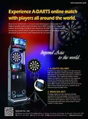 A-DARTS Digital Soft Dart Machine Networking