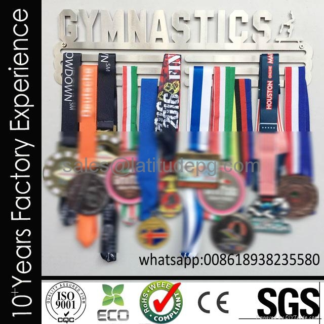 Wholesale cheap customized sports stainless steel medal hanger for hanging medal 1