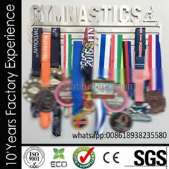 Wholesale cheap customized sports stainless steel medal hanger for hanging medal