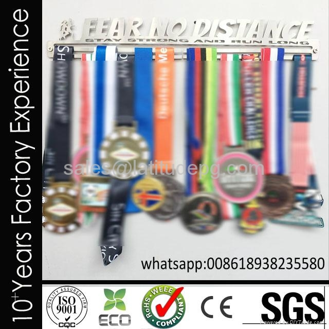 Wholesale cheap customized sports stainless steel medal hanger for hanging medal 3