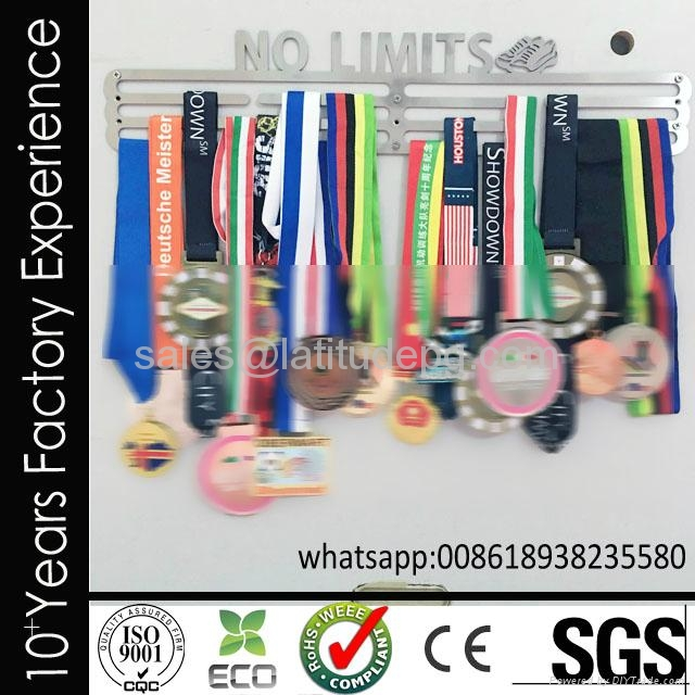 Wholesale cheap customized sports stainless steel medal hanger for hanging medal 4