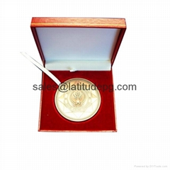 Custom Cheap Metal medal Polishing custom tourist souvenir medal gold coin