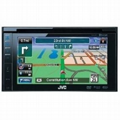 Double-DIN Navigation with 6.4-Inch Widescreen Detachable Touch Panel Monitor