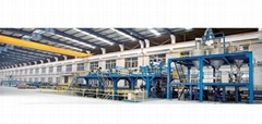 High Speed Aluminum Plastic Composite Panel Extrusion Line