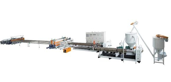 XPS Heat Insulation Foaming Boad Extrusion Line (CO2 Foaming Technology)   1
