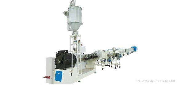HDPE Water Suppply Pipe Energy-saving and High Speed Extrusion Line   1