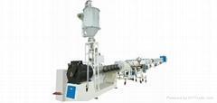 HDPE 供排水管節能高速擠出生產線