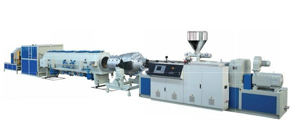 UPVC Pipe And CPVC Solid Pipe Extrusion Line   1