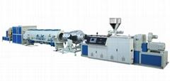 UPVC供排水及CPVC電力管材擠出生產線