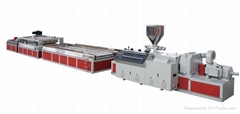 WPC (Foamed) Panel Extrusion Line