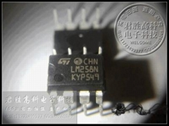 LM258N ST品牌 DIP-8封裝 全新原裝進口的