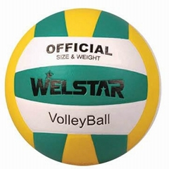 Promotional laminated PU PVC Rubber volleyball