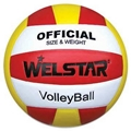 Promotional laminated PU PVC Rubber volleyball 4