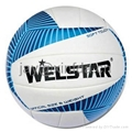 Promotional laminated PU PVC Rubber volleyballs 3