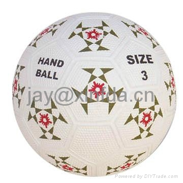 Promotion laminated PU PVC Rubber volleyball 3