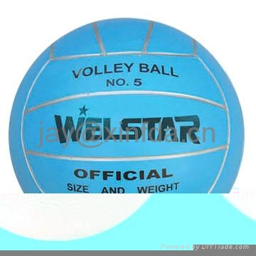 Promotion laminated PU PVC Rubber volleyball 2