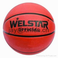 Promotional laminated PU PVC Rubber basketball