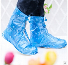 2014 Fashion Rain Shoes Cover Women Waterproof Rainproof Boots Portable