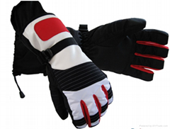 Water-proof Snow Boarding and  Thinsulate Leather Skiing Glove