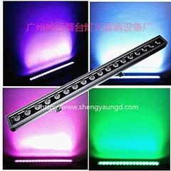18顆RGBW四合一防水DMX512洗牆燈
