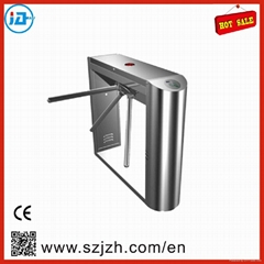 Semi-auto 304 stainless steel rfid Smart Tripod Turnstile with access control sy