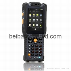 Handheld Ultra high Frequency 6 meters RFID Terminal 1D 2D barcode scanner PDA