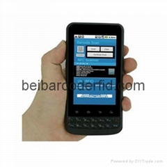 Android Industrial PDA UHF RFID Nfc Reader WiFi Bluetooth 1d 2d Barcode Scanner