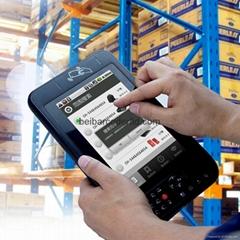 PDA UHF Nfc RFID Reader 1D 2D barcode scanner Market logitics Tablet pc