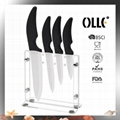Hot Sale Ceramic Knife Set with  Block
