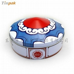 metal dome lunch cake box