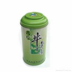 elegant delicate  tea tin box