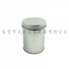 round tea tin can (RD060060090)