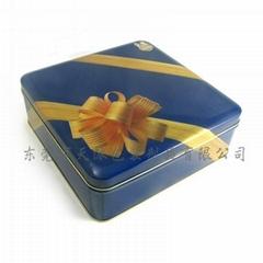 high quality rectangular tin boxes