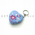 supplier heart tins with key ring