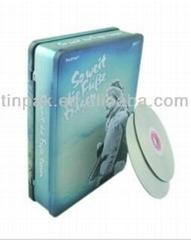 hinged  dvd tins