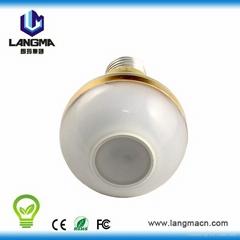 Dimmable dusk to dawn 6w led bulb hallway emergency light
