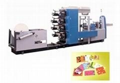 Full-Automatic Multi-colors Napkin Paper Machine
