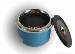 觸摸式遠紅外線無煙電燒烤爐AYK-15A11