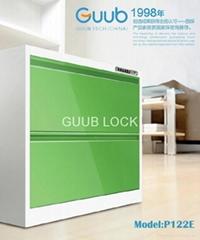 Office steel drawer cabinet lock P122E