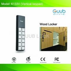 wood locker lock new in