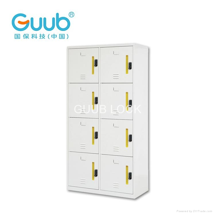 Industrial Metal Locker Cabinets Smart Lock Metal Storage Cabinet