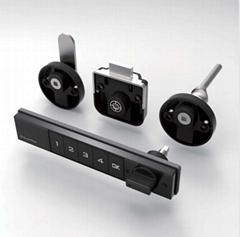 Guub tumbler metal security lock desk drawer locks magnet lock detacher