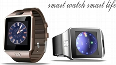 DZ09 android bluetooth sim card smart watch for iPhone samsung