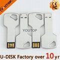 Colors Key Shaped Metal USB Flash Stick (YT-3213L) 2