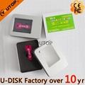 Colors Key Shaped Metal USB Flash Stick (YT-3213L) 5