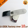 Fashional Leather USB Flash Drive  with