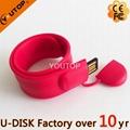 Hot Silicone Bracelet Wrisband USB Flash Drive (YT-6301) 2