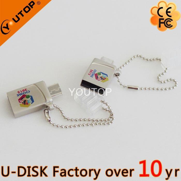 Hot Promotional OTG USB Flash Drive with Custom Logo (YT-3288-02L) 2