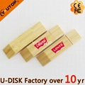 Hot Sell Wooden USB Flash Drive 1-64GB (YT-8118) 1
