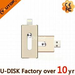 New Hot USB3.0 OTG Flash Drive for Apple iPhone (YT-I001L7)